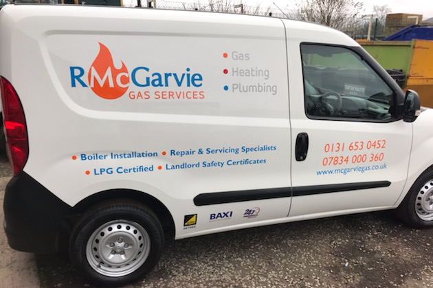 The newest additon to R McGarvie Gas Services